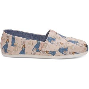 TOMS x Disney Pink Sleeping Beauty Aurora Shoes